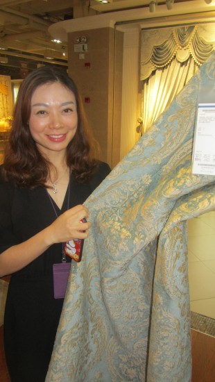 Fabric Buyer Judy Tang Unexpectedly Leaves Shanghai Expo