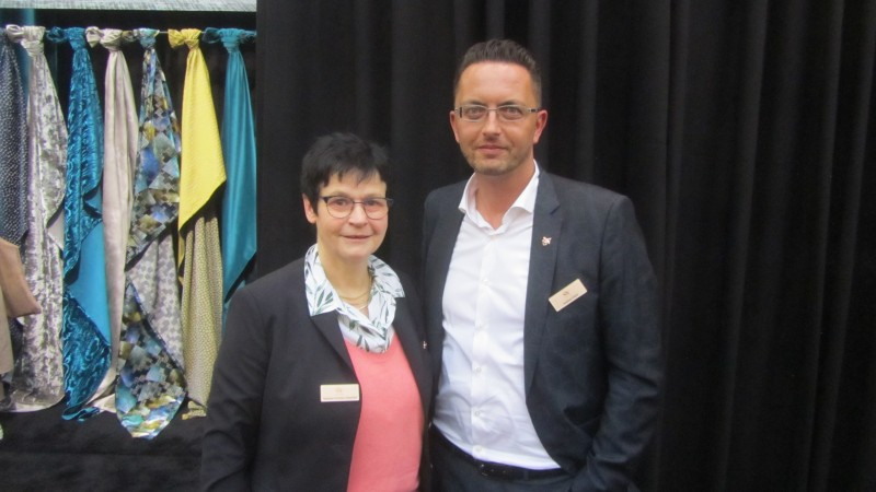 Susanne Schicker-Westhoff and Andreas Klenk, joint CEO of Saum & Viebahn