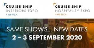Criuse Ship Interiors Expo Moves From June to Sept. 2-3