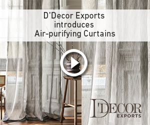 Live Healthy, Live Beautiful with D'Decor Air Purifying Curtains by D'Decor Exports