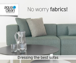 aquaclean - No worry fabrics! Dressing the best sofas