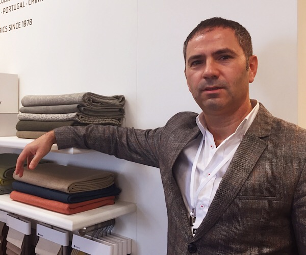 Jose Carlos Oliveira, CEO of Elastron Leather & Fabrics, headquarters in Portugal
